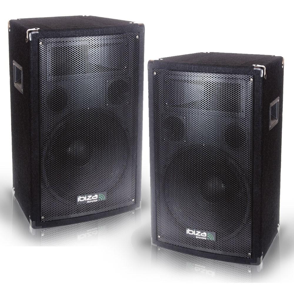 600 Watt PA-Lautsprecher DJ-Boxen 3-Weg Discobox Bass DISCO 8B PAAR