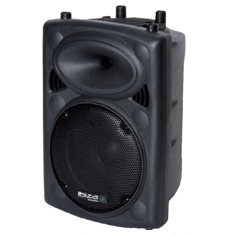 400 Watt Atkiv Box PA Lautsprecher Bluetooth Echo Treble Verstärker Bass USB SLK10A-USB