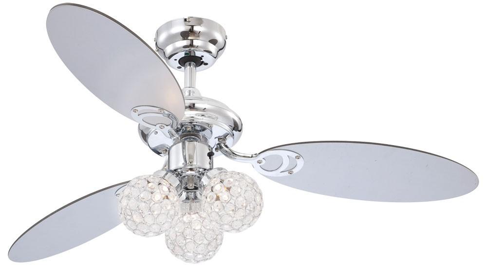 LED 57 Watt Ceiling Fan With Lights And Pull Switch Fan