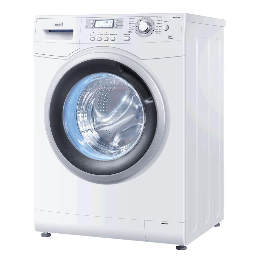frontlader waschmaschine aquastopp energieeffizienzklasse a haier hw 80 1482 ebay. Black Bedroom Furniture Sets. Home Design Ideas