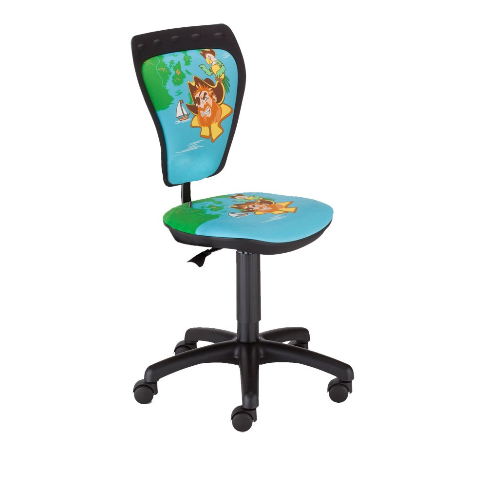 Desk chair kids room boys pirate style ts22 swivel chair for Chair for boys room