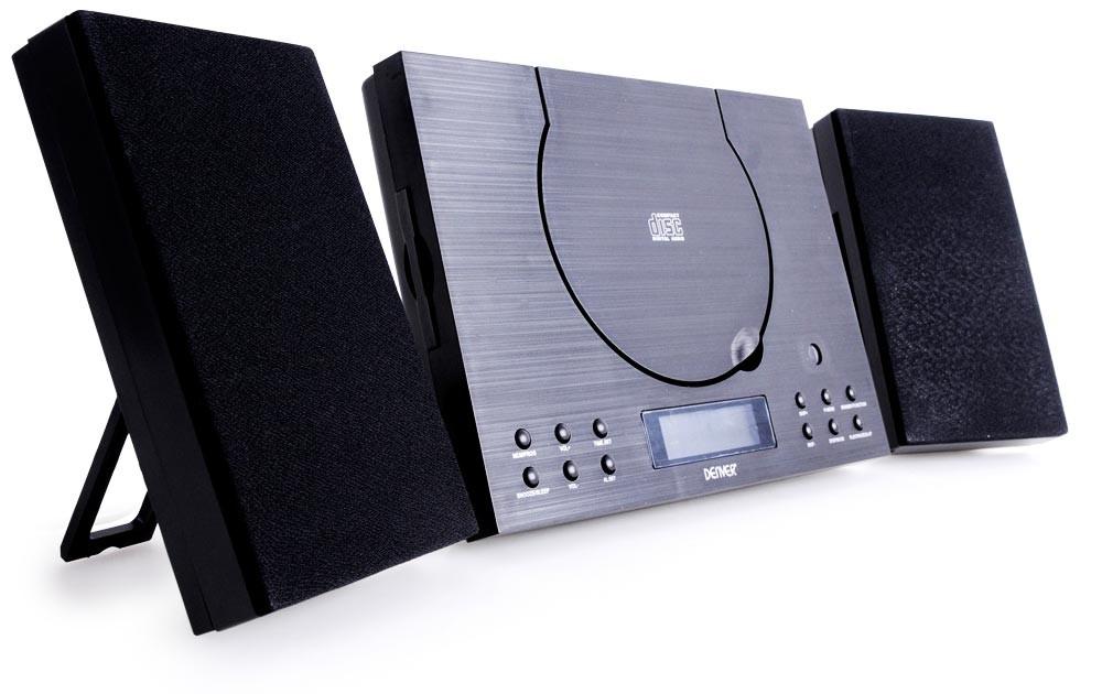 Musikanlage mit Bluetooth Denver MC-5010 BT in schwarz ...